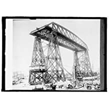 16 x 20 Gallery Wrapped Frame Art Canvas Print of Buenos Aires, Argentina, Avellaneda Bridge 1915 National Photo Co 19a