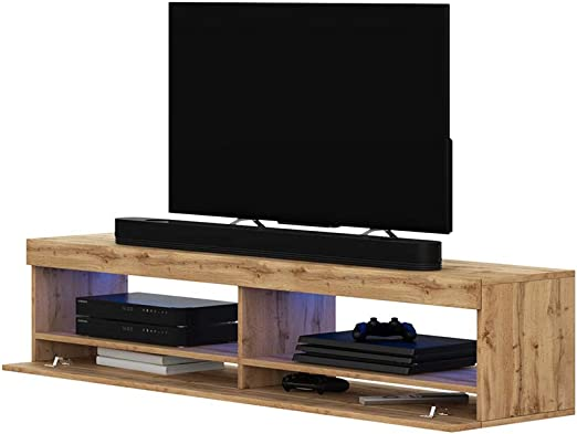 Selsey Mueble para Televisor Roble Mate, 100 x 40 x 40 cm: Amazon ...