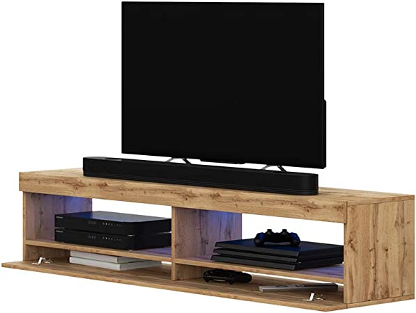 Selsey Mueble para Televisor Roble Mate, 100 x 40 x 40 cm: Amazon.es: Hogar