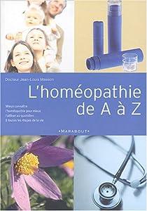 L'homéopathie de A à Z par Masson