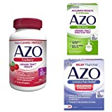 #5: AZO Maximum Urinary Health Pack | 3 Products to Test for a UTI, Relieve UTI Pain, and Cleanse + Protect the Urinary Tract