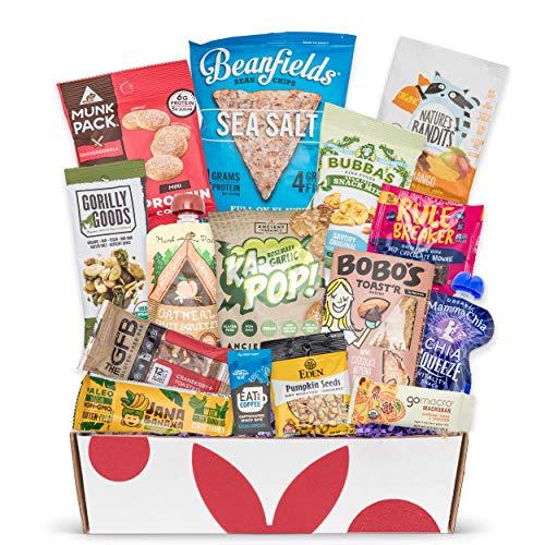 Vegan Gluten Free Dairy Free Healthy Snacks: Perfect Vegan Snacks For A Vegan Gift Basket, Vegan Care Package, Or Gluten And Dairy Free Snacks Gift Baskets.