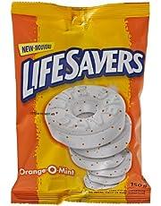 Life Savers Orange-O-Mint, Peg Bag, 150gm, 12 Count