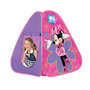 Disney Minnie Mouse Bow-tique Pop Up Tent  sc 1 st  Amazon.com & Amazon.com: Disney Minnie Mouse Bow-tique Pop Up Tent: Toys u0026 Games