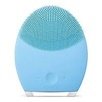 FOREO LUNA 2 Cepillo de limpieza facial personalizado y masajeador facial antienvejecimiento para pieles mixtas