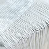 FTXJ String Curtains Patio Net Fringe for Door Fly Screen Windows Divider Cut To Size -Home Bedroom Decor, 18 Colors Available (A, 50cmx200cm)
