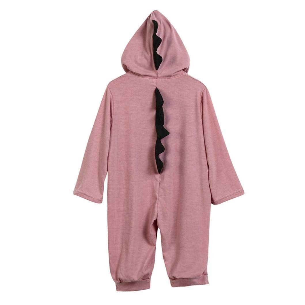 Baby Layette Set Infant Boy Girl Dinosaur Halloween Christmas Hooded Romper Jumpsuit Outfits