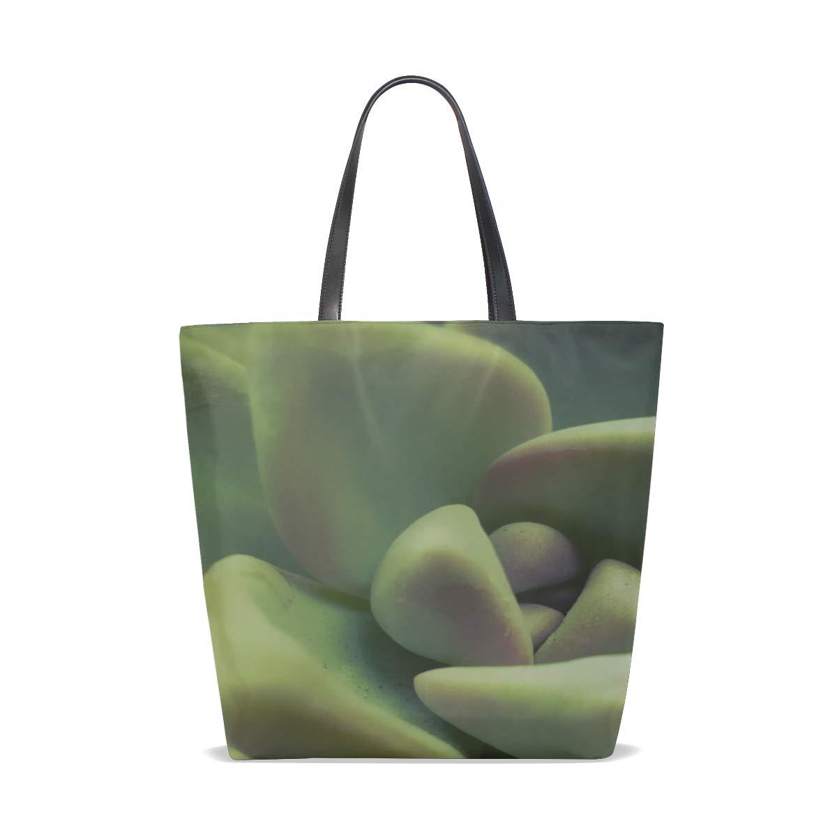 9a59760c18 Amazon.com  Rh Studio Tote Bag Plant Green Leaves Purse Handbag For Women  Girls  Shoes