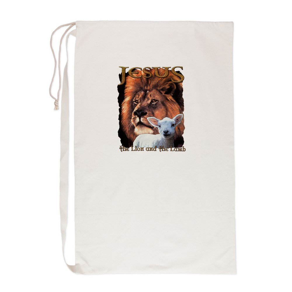 Laundry Bag Jesus The Lion And The Lamb