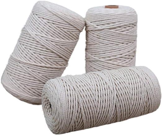 SUPVOX Manual de algodón natural Piping Welt Cord, Crafts Cordón ...