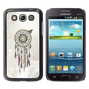 Paccase / SLIM PC / Aliminium Casa Carcasa Funda Case Cover para - Catcher Beige American Art Native - Samsung Galaxy Win I8550 I8552 Grand Quattro