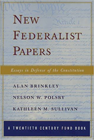 the new federalist papers
