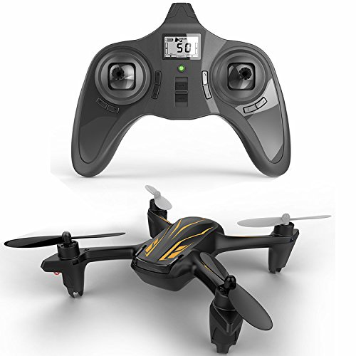 HUBSAN H107P X4 Plus 4 Channel Altitude mode 2.4GHz RC Series Quadcopter Mode 2 RTF (Black)