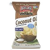 Boulder Canyon Natural Foods Kettle Chips - Coconut Oil - Case of 12 - 5.25 oz.