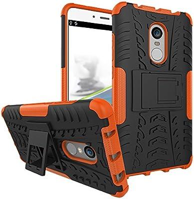 Max Power Digital Xiaomi Funda Heavy Duty Híbrida Rugged Armor Case Choque Absorción Protección Dual Layer Bumper Carcasa con Pata Trasera para Xiaomi ...
