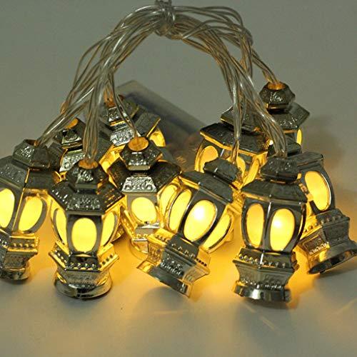 (CCatyam Ramadan and Eid Decor Lights LED Lights Home Festival Party Bedroom Birthday Decoration Favor Nice DIY Tropical (Yellow))