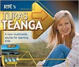 Book Turas Teanga - 3 CDs: A New Multimedia Course for Learning Irish (Irish Edition)