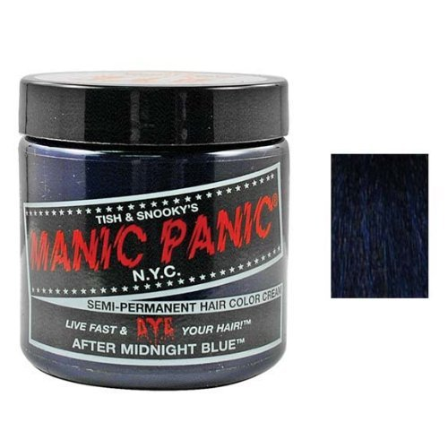 Manic Panic After Midnight Blue Hair Dye Color Emo Hair