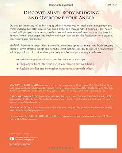 Mind-Body Workbook for Anger: Effective Tools for Anger Management ...