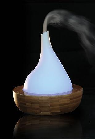 Feng Shui Bambus Wasserspiel Mit Multicolor Beleuchtung Und