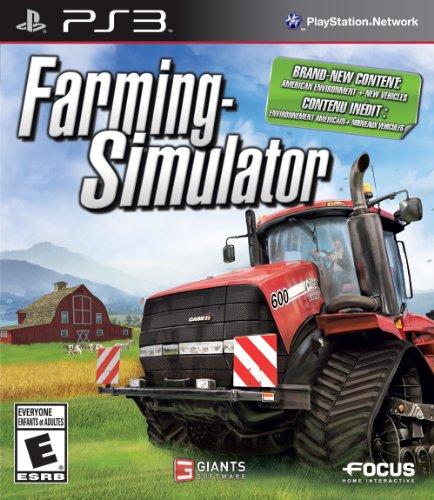 Farming Simulator - PlayStation - Computer Simulator Farming Game