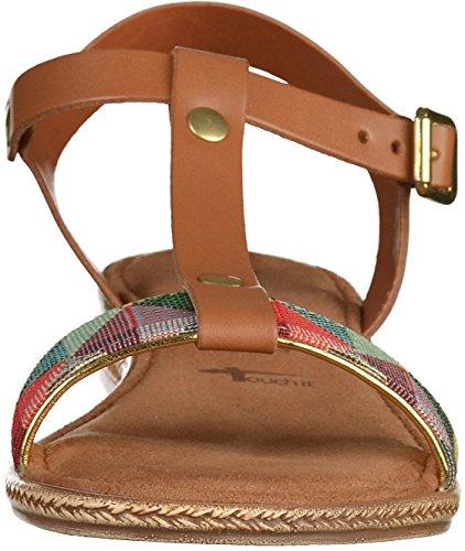 Tamaris 1-1-28149-28-392 - Sandalias de vestir de Piel para mujer 392COGNAC COMB