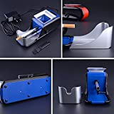 Rolling Machine Electric Cigarette Automatic Injector DIY Tobacco Roller Maker Blue