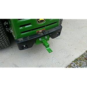 John Deere Z Trak Rear Lawn Mower Tractor Trailer Zero Turn Hitch for Model Z930