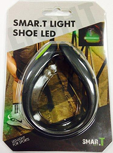 SMAR.T Lightclip Shoe Led Running, Schwarz, Run