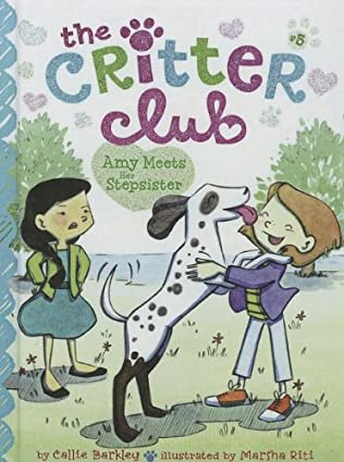 book cover of Amy Meets Her Stepsister