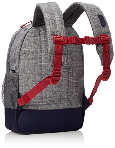 Herschel Supply Co. Kids' Heritage Youth Children's Backpack, Raven Crosshatch/Peacoat/Red, One Size by Herschel Supply Co. (Image #2)