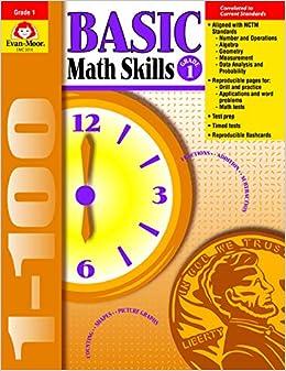 Amazon com: Basic Math Skills, Grade 1 (9781557998965): Evan