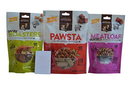 Rachael Ray Nutrish 3 Flavor Dog Treat Variety Pack