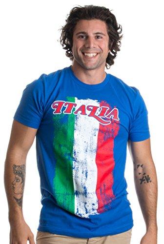 Italia Flag | Italian Pride, Italy Italiano Forza Azzurri Colors Unisex T-shirt