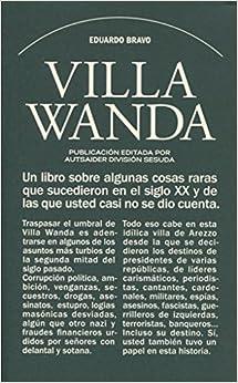 Book's Cover of Villa Wanda (Autsaider División Sesuda) (Español) Tapa blanda – 20 marzo 2017