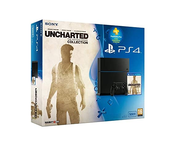 Console PS4 500Go + Uncharted: The Nathan Drake Collection + ...