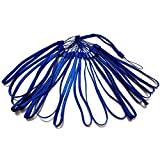 GTONEE 20PCS Bundle Colorful 7 Inch Durable Nylon Hand Wrist Strap Lanyard Straps / Strings Pack Rope for Hooking up Cellphone, Camera, iPod, Mp3, Mp4, USB Flash Drives,PSP Wii ,Pedometer, Keychains and Most Electronic Devices (Dark Blue)