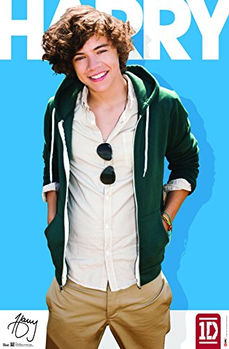 """Trends International One Direction Harry Styles Wall Poster, 22.375"""" x 34"""""""