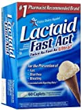 Lactaid Fast Act Lactase Enzyme Supplement, EconomyPack Pack of 192 Count Lactaid-ij