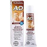 A+D Original Diaper Rash Ointment, Skin Protectant, 8 Pack (4 Ounce Tube) Antioxidant-Rich