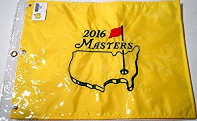 Brand New Official 2016 Masters Golf Tournament Pin Flag Augusta National
