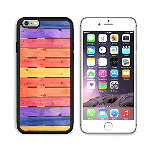 MSD Premium Apple iPhone 6/6S Plus Aluminum Backplate Bumper Snap Case iPhone6 Plus IMAGE ID 30853981 Colorful wall for (Iphone6 Porch)