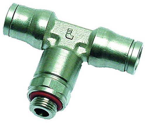 B10-00132 - 6mm X 1/8' BSPP Male Stud Bran ch Tee Legris Push-in Fitting