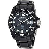 Haurex Italy Men's N7354UNN Caimano Date Black Dial Plastic Sport Watch