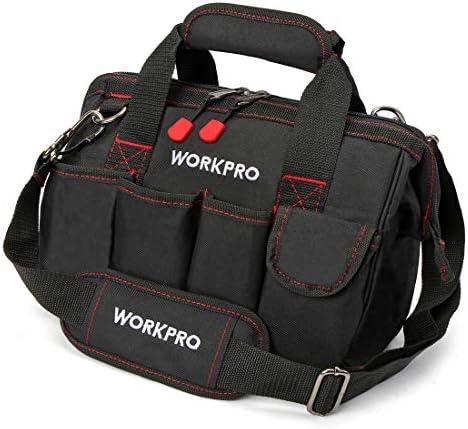 WORKPRO 工具袋 大口収納ツールバッグ 300mm W081020AJ 開口部が大きく出し入れが簡単