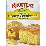 corn bread mixes - Krusteaz Honey Cornbread & Muffin Mix, 15 Ounce (Pack of 3)
