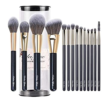 db3fbd1b7dad Amazon.com: Laliva Makeup Brushes Set Cruelty Free Synthetic Travel ...