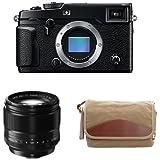 Fujifilm X-Pro2 Body Professional Mirrorless Camera (Black) + XF56mmF1.2 R + Domke F-5XB Camera Bag