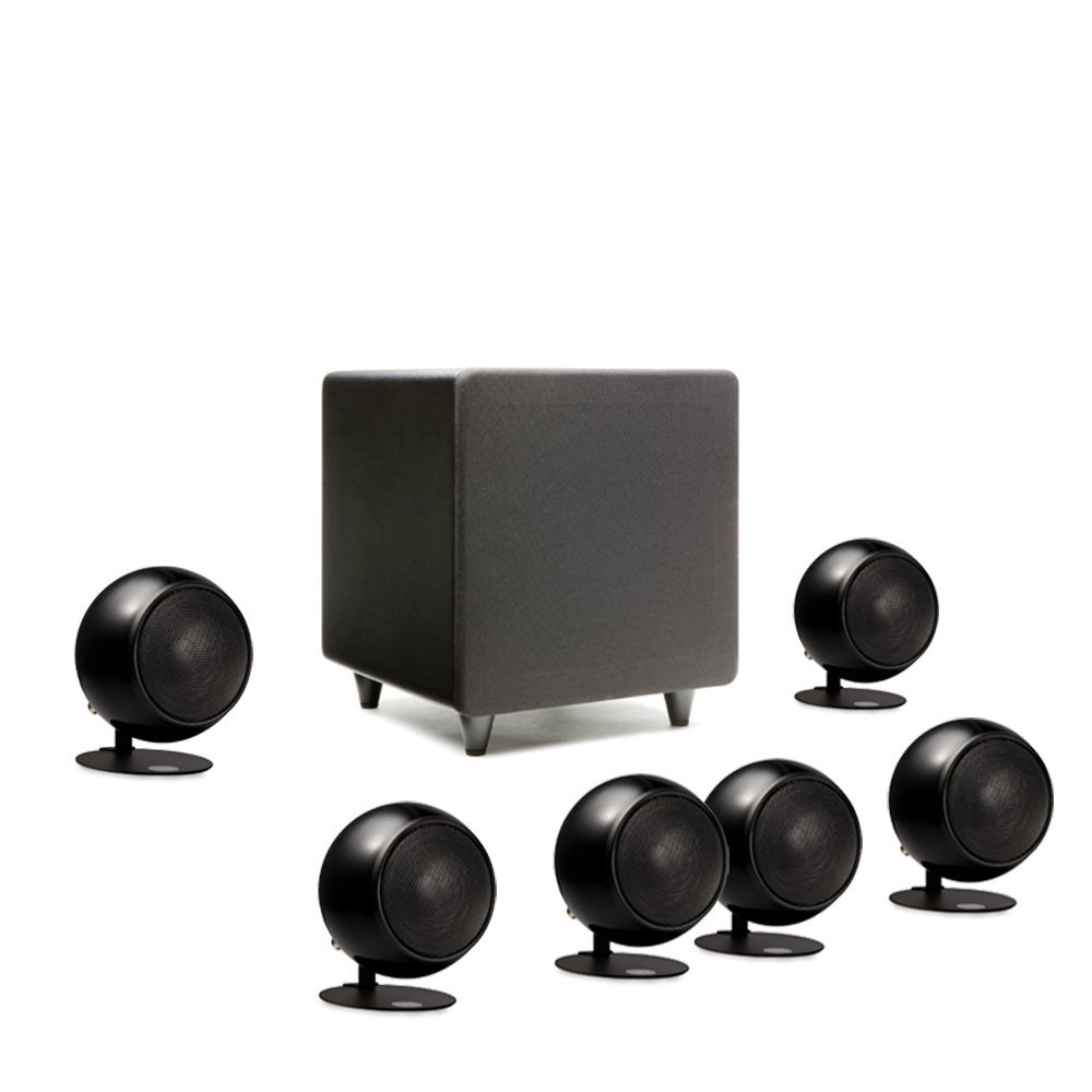 Orb Audio Mini 5.1 Plus - Metallic Black Gloss by Orb Audio