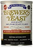 LEWIS LABS BREWERS YEAST FLAKES PURE, 12.35 OZ (Pack of 6)